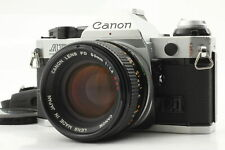 [Near Mint] CANON AE-1 Program Silver + CANON FD 50mm f/1.4 SSC from JAPAN 0624