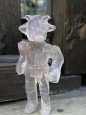 """STAR WARS REE YEES TRANSPARENT MEXICAN BOOTLEG HARD PLASTIC 3 3/4"""" FIGURE MEXICO"""