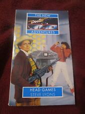 Dr. Who New Adventures : Head Games by Steve Lyons (1995, pb)