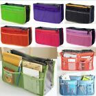 New Women Insert Handbag Organiser Purse Organizer Cosmetic Bag Tidy Travel JJL