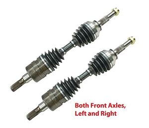 2 New Front CV Axles Left & Right With Warranty Fit Colorado Canyon Guaranteed