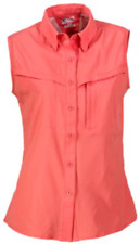 NEW World Wide Sportsman Women's Cape Coral Sleeveless Shirt Size Small