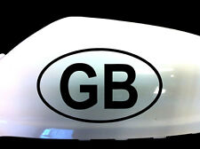 GB Car Stickers Wing Mirror Styling Decals (Set of 2), Black