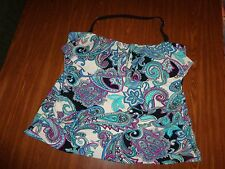 St. John's Bay Multi-Color TANKINI (TOP ONLY) SWIMSUIT WONEN'S SIZES: 22W