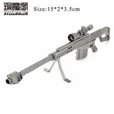 Kit Modelo de Metal 3D Puzzle-Barrett 50 Cal rifle de francotirador