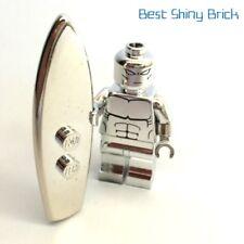 Lego Chrome Silver Surfer Marvel Super Heroes Machine Printed *New*