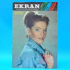 EKRAN 1573 | 29.07.-04.08.1988 | VR Polen FF Dabei | Katarzyna Dowbor Malajkat