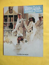 1979 Cheap Trick Dream Police Rock Guitar Japanese Songbook