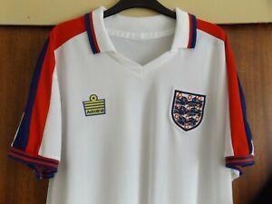 England 1974 1980 Football Shirt XXL 2XL 74 80 / 82 1982