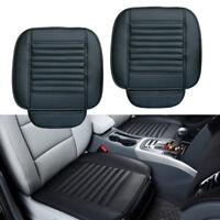 1Pair PU Leather Car Truck Front Seat Cover Breathable Pad Mat Chair Cushion