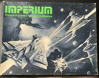 Conflict Wargame  Imperium (1st Ed) Complete Original Owner G.D.W. FREE US Ship