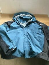 DARE2BE DARE 2 BE MEN'S BLUE HOODED JACKET USED GOOD CONDITION SIZE M MEDIUM