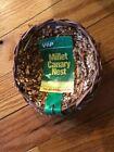 "Vo-Toys Small Millet 4""X4"" Open Twig Nest Bird For Breeding Votoys Xpet VIP"