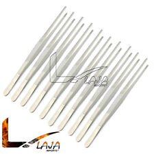 "10 pcs 18"" Large Tweezers Huge Long Thumb Dressing Forceps Stainless Steel New"
