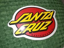 Santa Cruz Vintage Skateboard Sticker 80s