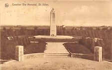 POSTCARD    FRANCE  ST  JULIEN  Canadian  War  Memorial