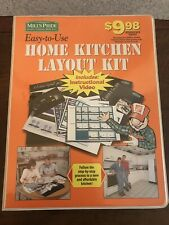 Home Depot Mills Pride Home Kitchen Layout Kit Plans Guide Diy Sticker Blueprint