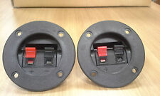 (QTY 10)  Speaker terminal - Round ( 5 set of 2)