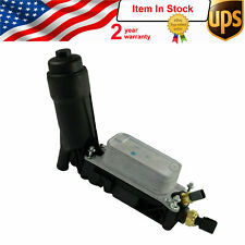 Oil Filter Housing Adaptor for 2014-2017 Chrysler Dodge Jeep Ram 3.6L 5184294AE