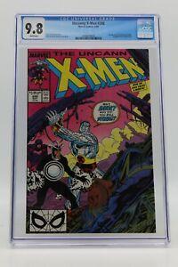 Uncanny X-Men (1963) #248 CGC 9.8 Blue Label White Pgs 1st Jim Lee Art On Title