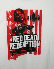 Red Dead Redemption Outlaws The End Video Game Promo T-Shirt NOS Unused Sz 3XL