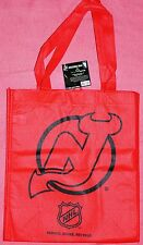 Lot of 2 NEW JERSEY DEVILS Reusable Shopping GIFT Bag NHL NEW FREE SHIPPING