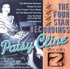Four Star Recordings, Vol. 2 by Patsy Cline (CD, Aug-1998, Country Stars (USA))