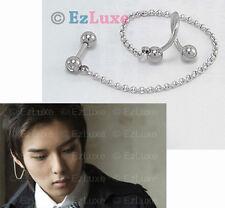 K-POP Korean TV Boy Band Idol Super Junior Ryeowook 16g Swirl Two Pin Piercing