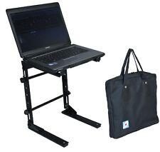 Ordinateur portable appareil DJ Stand avec un étui de transport-portable et réglable