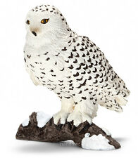 Schleich 14671 Snowy Owl Wild Raptor Bird Animal Model Toy Figurine - NIP