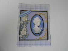 PACK 2 LILAC CAMEO EMBELLISHMENTS FOR CARDS/CRAFTS-SOMEONE VERY SPECIAL