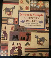 Sweet and Simple Country Quilts Jenni Dobson Sterling Publishing 1996 HC