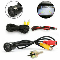 170°  Coche Vista trasera CDD Parking Cámara de reversa CMOS Night View 8LED,