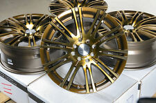 "16"" Bronze Wheels Rims 4 Lug Acura Integra Honda Accord Civic Fit Insight Lancer"