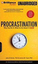 Burka Jane B. Ph.D./ Yuen L...-Procrastination  CD NEW