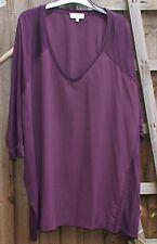 Papaya Weekend Size 18 Purple Loose Fitting Top