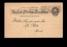 Ringen Stove Co Gas Gasoline Stoves Ranges St. Louis 1894 Postal Card 3m