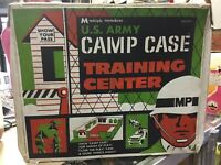 Vintage 1969 Multiple Toymakers US Army Camp Case Training Center  #1721 + Bonus