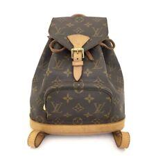 100% Authentic Louis Vuitton Monogram Mini Montsouris Backpack /