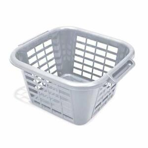Eco 100% Recycled Plastic Square Laundry Clothes Washing Basket