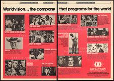 WORLDVISION__Original 1981 Trade Print AD_TV promo__Love Boat_Space Ghost_Dallas