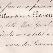 Blanche Charlotte De Bessou Edmond De Damas D'Anlezy