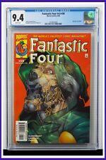 Fantastic Four #v3 #45 CGC Graded 9.4 Marvel August 2001 White Pages Comic Book.
