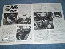 "1969 Ford Falcon 428 FE Vintage Tech Info Article ""You Could Do This Swap..."""