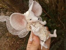 """*NEW* Cloth Art Doll (Paper) Pattern """"Miss Myrtle Moselle Mousie"""" By Paula McGee"""