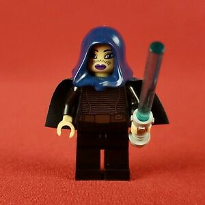 2012 Genuine Lego 9491  Star Wars Barriss Offee Minifigure with Lightsaber