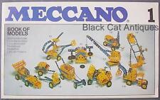 Original Vintage 1978 Meccano Book Of Models Manual 1 England 7 Languages
