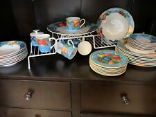 Victoria Beale Porcelain dinnerware for 8 + Serving pieces