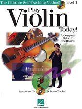 Aprende a jugar violín fácil Principiantes básica de arranque Partituras Libro 1 + Pistas