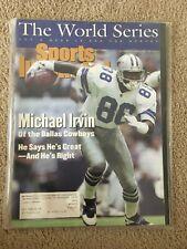 FM5-80 Sports Illustrated Magazine 10-25-1993 MICHAEL IRVIN COWBOYS